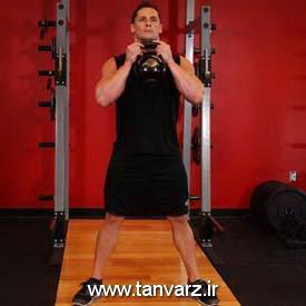 حرکت گابلت اسکوات (Goblet squats)