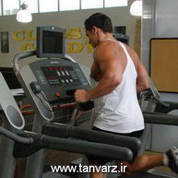 حرکت دویدن بر روی تردمیل Running Treadmill