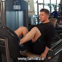 حرکت پرس پا با دستگاه Seated Leg Press