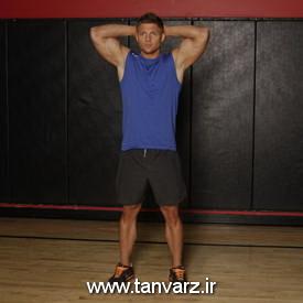 حرکت اسکوات با وزن بدن -Bodyweight Squat