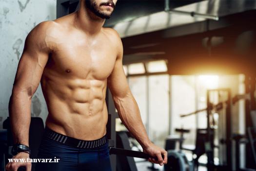 برنامه فشرده عضلات شکم