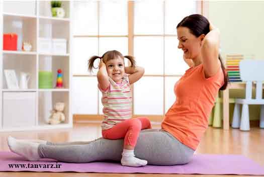 برنامههای عمومی تمرین در منزل