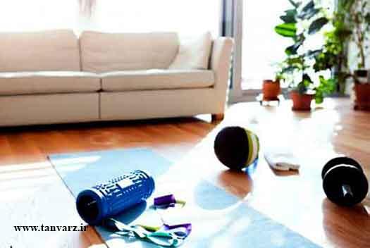 برنامههای مقدماتی تمرین در منزل