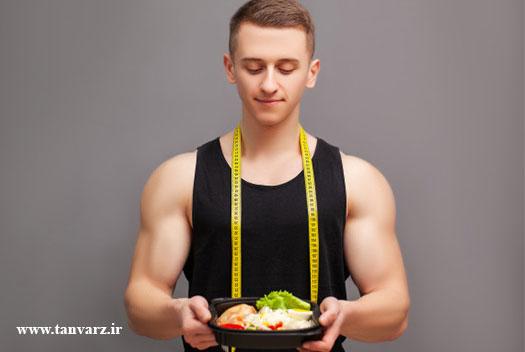 پروتئین مورد نیاز برای بدنسازی