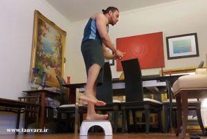 حرکات بدنسازی در منزل