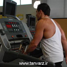 حرکت راه رفتن روی تردمیل Walking on Treadmill