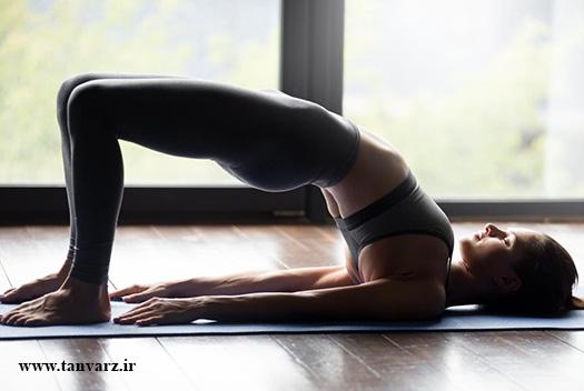 تقویت عضلات کمر در خانه