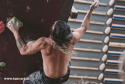 کات کردن عضلات