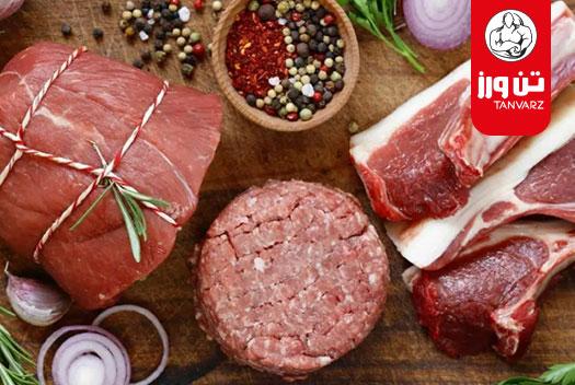 اهمیت گوشت قرمز در بدنسازی