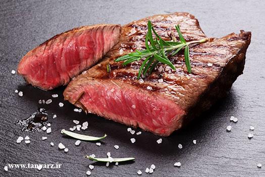 گوشت قرمز در بدنسازی