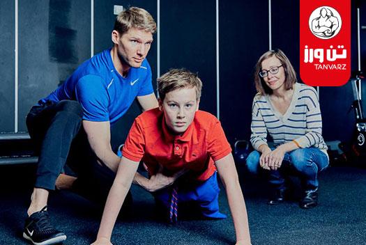 برنامه تمرین بدنسازی برای نوجوانان