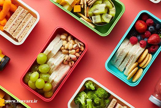 برنامه رژیم غذایی بدنسازی