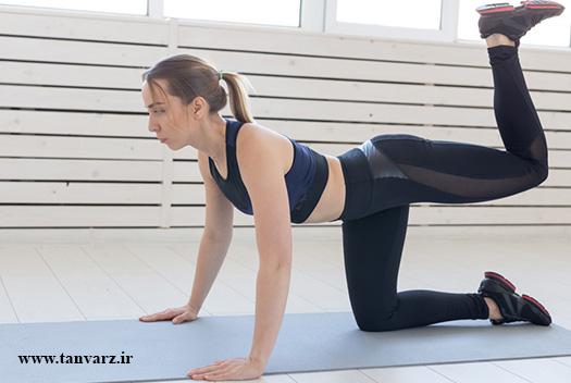 ۵۰ مورد از بهترین تمرینات بدنسازی بدون وزنه