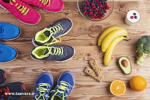 رژیم غذایی ورزشکاران