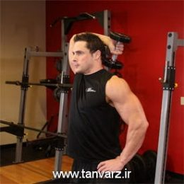 حرکت پشت بازو دمبل تک دست Dumbbell One-Arm Triceps Extension