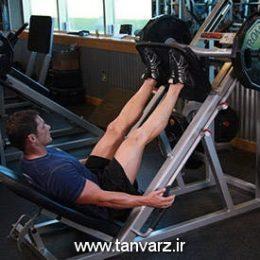 حرکت پرس پا دستگاه Leg Press