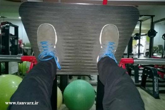 برنامه تمرینی بدنسازی حجمی پا