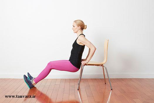 برنامه تمرینی لاغری بازو